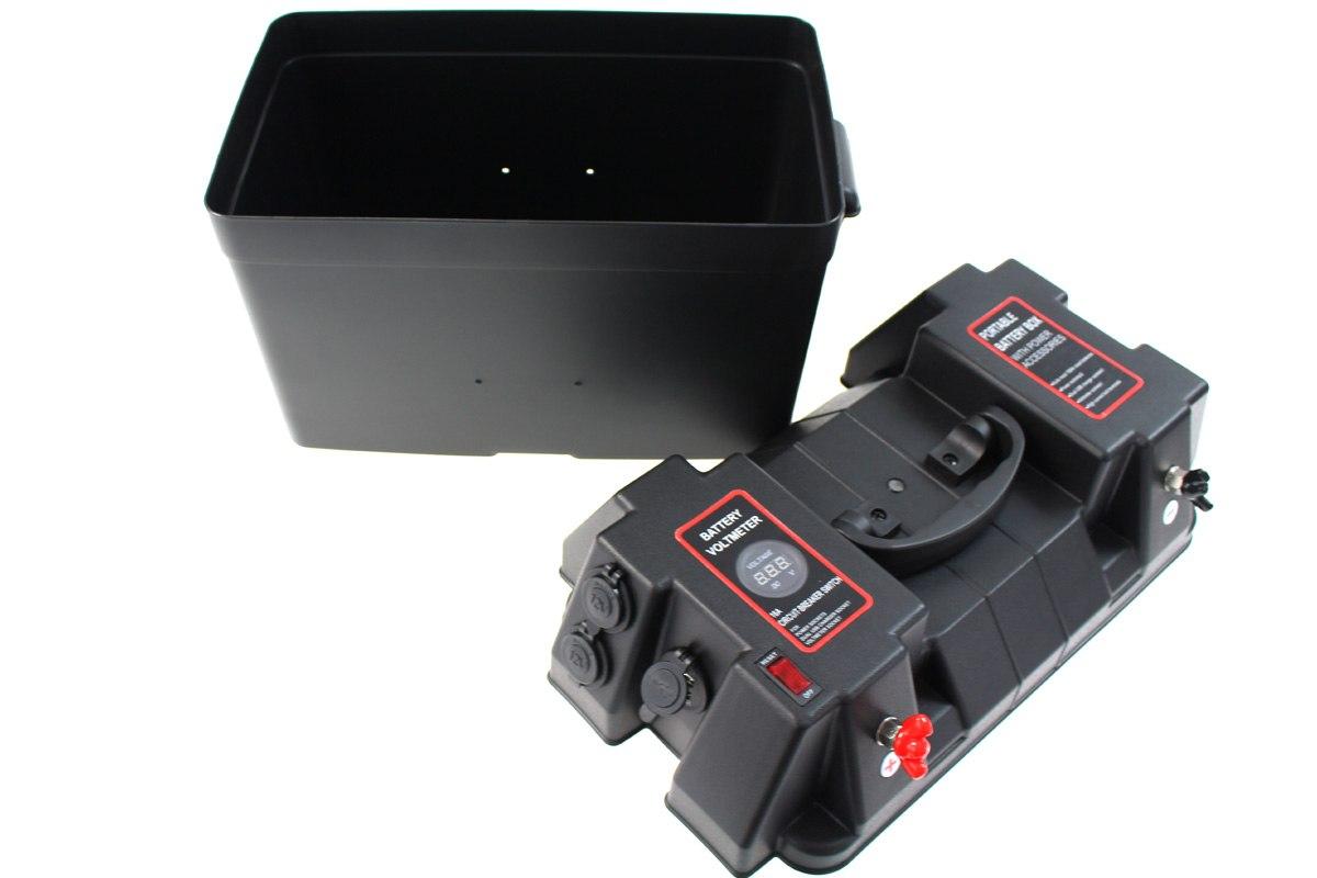 Skrzynka obudowa akumulatora z akcesoriami - GRUBYGARAGE - Sklep Tuningowy
